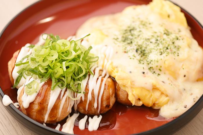 2食合盛り 8個入<br><small>(九条ねぎマヨ・ふわたまチーズ)</small>