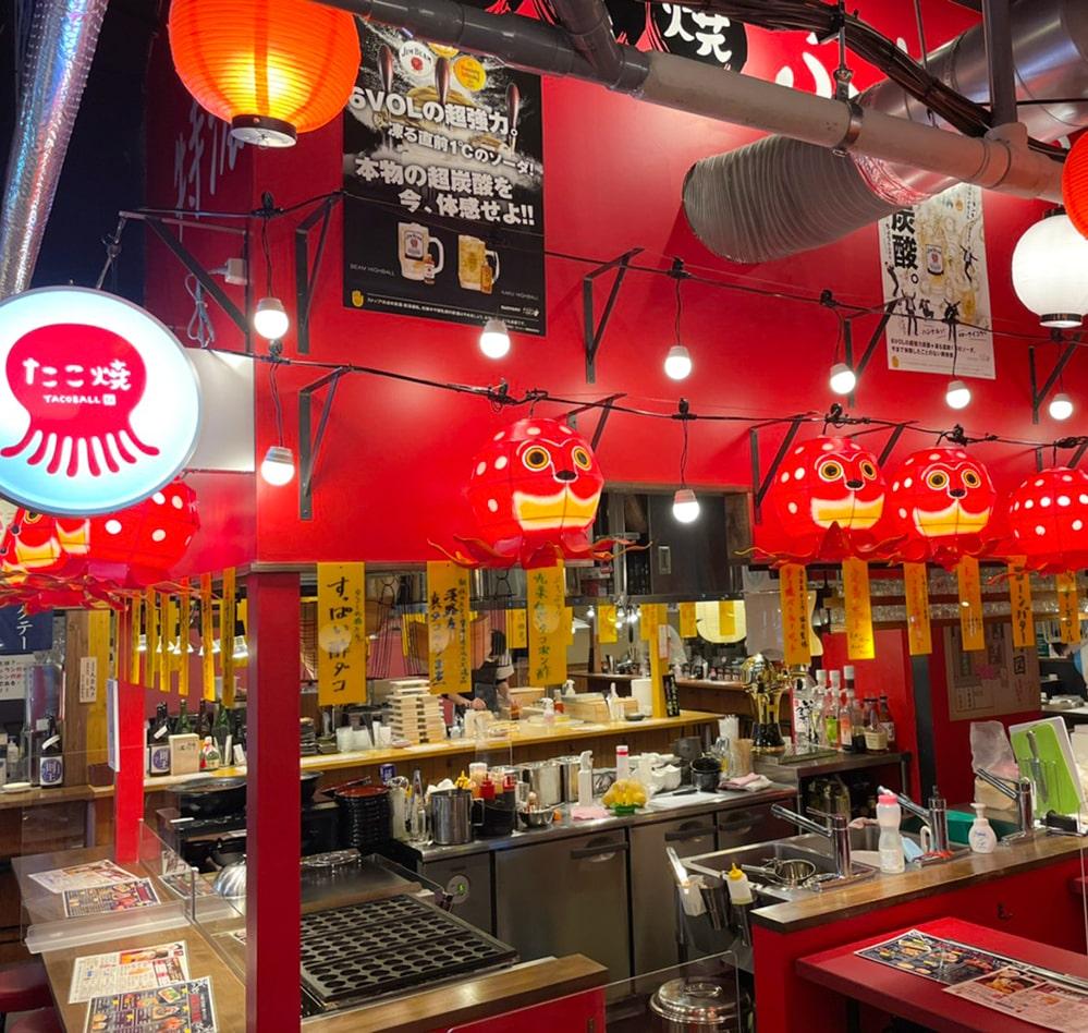 タコとハイボールプレミアム札幌つなぐ横丁店